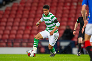 Armstrong Oko-Flex (#11) of Celtic FC during the Scottish FA Youth Cup Final match between Celtic and Rangers at Hampden Park, Glasgow, United Kingdom on 25 April 2019.