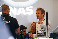 ROSBERG nico (ger) mercedes gp mgp w06 ambiance portrait  during 2015 Formula 1 championship at Melbourne, Australia Grand Prix, from March 13th to 15th. Photo DPPI / Frederic Le Floch.