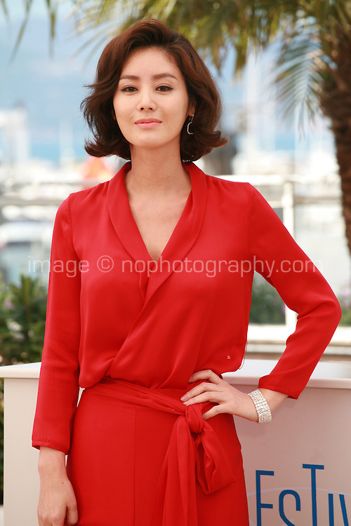 Actress Kim Sun Ryoung at the photo call for the film The Target at the 67th Cannes Film Festival, Friday 23rd May 2014, Cannes, France.