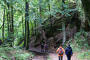 Wanderer Drachenschlucht, Eisenach, Thüringen, Deutschland | walkers Dragon Gorge, Eisenach, Thuringia, Germany