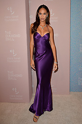 September 13, 2018 - New York, NY, USA - September 13, 2018  New York City..Joan Smalls attending the 4th Annual Clara Lionel Foundation Diamond Ball on September 13, 2018 in New York City. (Credit Image: © Kristin Callahan/Ace Pictures via ZUMA Press)
