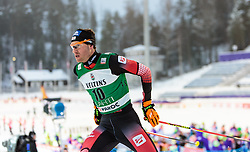 19.02.2016, Salpausselkae Stadion, Lahti, FIN, FIS Weltcup Nordische Kombination, Lahti, Langlauf, im Bild Bernhard Gruber (AUT) // Bernhard Gruber of Austria competes during Cross Country Gundersen Race of FIS Nordic Combined World Cup, Lahti Ski Games at the Salpausselkae Stadium in Lahti, Finland on 2016/02/19. EXPA Pictures © 2016, PhotoCredit: EXPA/ JFK