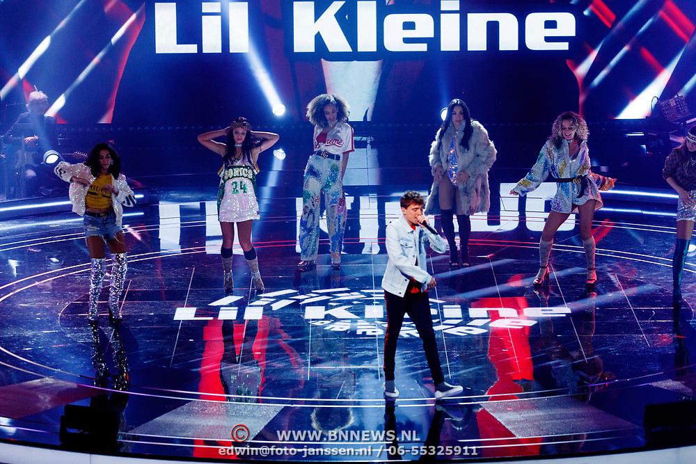 NLD/Hilversum/20180216 - Finale The voice of Holland 2018, Lil Kleine