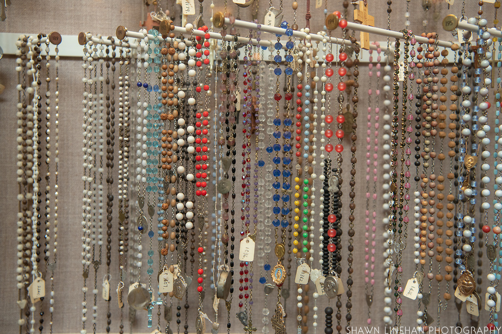 The CGIC has the largest rosary collection in the world with almost 4000 rosaries, including one belonging to JFK.
