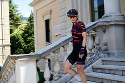 Alexis Ryan (USA) before Stage 8 of 2019 Giro Rosa Iccrea, a 133.3 km road race from Vittorio Veneto to Maniago, Italy on July 12, 2019. Photo by Sean Robinson/velofocus.com