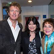NLD/Leiden/20130930 - Premiere Garland, Robert ten Brink en partner Roos Cialone en Caroline de Bruin