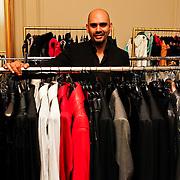BEL/Antwerpen/20100317 - Modeontwerper Stephan Badal