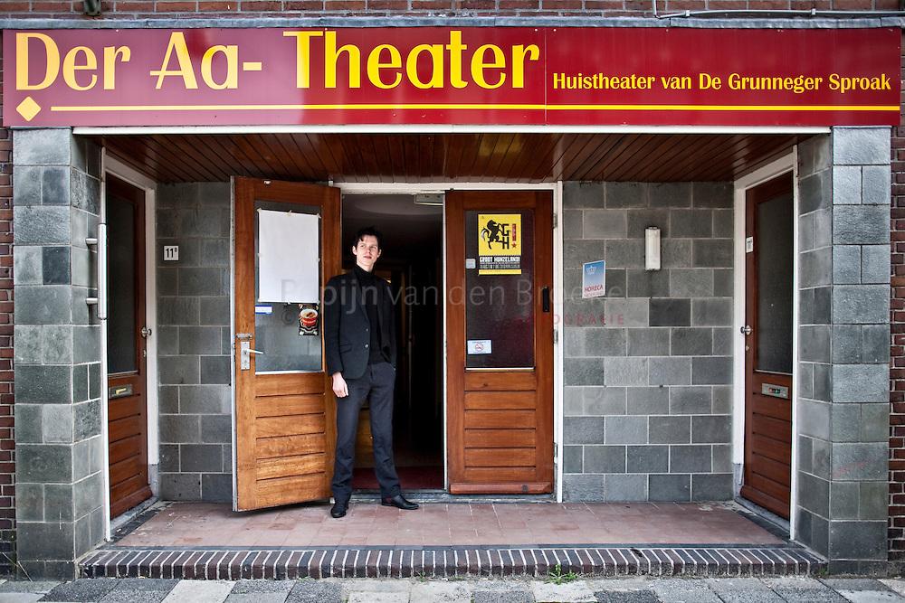 20100923 groningen, der aa theater, zakelijk leider leon mulder . foto; pepijn van den Broeke.
