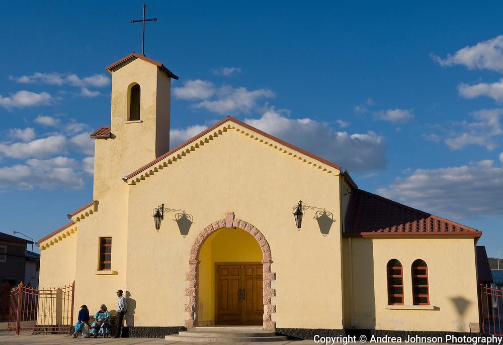 Catholic church, Creel, Sinaloa, Mexico
