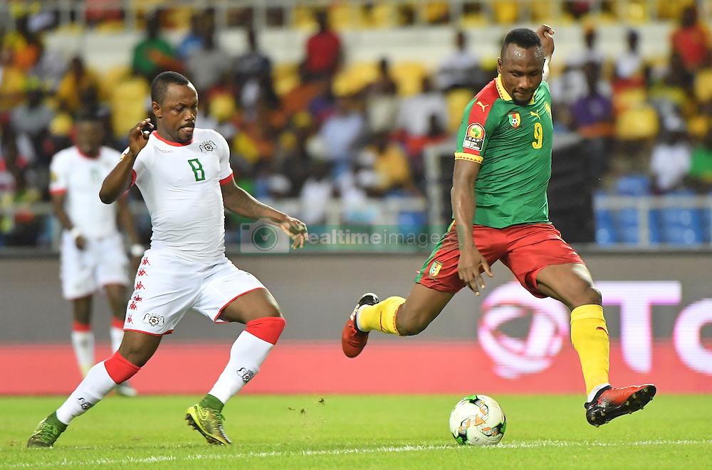 January 15, 2017 - Libreville, Gabon - Jacques Zoua (Cameroun) vs Abdou Razack Traore  (Credit Image: © Panoramic via ZUMA Press)