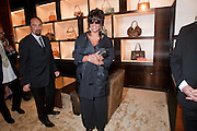 DONNA SUMMER, Louis Vuitton openingof New Bond Street Maison. London. 25 May 2010. -DO NOT ARCHIVE-© Copyright Photograph by Dafydd Jones. 248 Clapham Rd. London SW9 0PZ. Tel 0207 820 0771. www.dafjones.com.