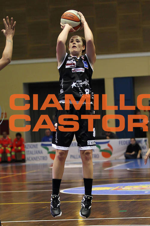 DESCRIZIONE : Cinisello Balsamo Lega A1 Femminile 2010-11 Opening day Agos Ducato Lucca Pool Comense<br /> GIOCATORE : Melissa Fazio<br /> SQUADRA : Pool Comense<br /> EVENTO : Campionato Lega A1 Femminile 2010-2011<br /> GARA : Agos Ducato Lucca Pool Comense<br /> DATA : 24/10/2010<br /> CATEGORIA : <br /> SPORT : Pallacanestro<br /> AUTORE : Agenzia Ciamillo-Castoria/ElioCastoria<br /> Galleria : Lega Basket Femminile 2010-2011<br /> Fotonotizia : Cinisello Balsamo Lega A1 Femminile 2010-11 Opening day Agos Ducato Lucca Pool Comense<br /> Predefinita :
