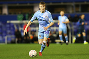 Josh Eccles on the ball during the The FA Cup third round replay match between Coventry City and Bristol Rovers at the Trillion Trophy Stadium, Birmingham, England on 14 January 2020.