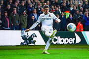 Leeds United midfielder Pablo Hernandez (19) during the EFL Sky Bet Championship match between Leeds United and Sheffield Wednesday at Elland Road, Leeds, England on 11 January 2020.