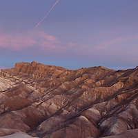 Panorama From Zabriski Point. Death Valley National Monument.