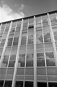 13/04/1964<br /> 04/13/1964<br /> 13 April 1964<br /> Exterior of new university buildings at Belfield. ESCOL panelling On the Chemistry Department.