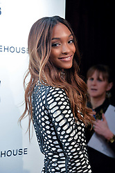 JOURDAN DUNN at the 17th Elle Style Awards 2014 in association with Warehouse held at One Embankment, 8 Victoria Embankment, London on 18th February 2014.