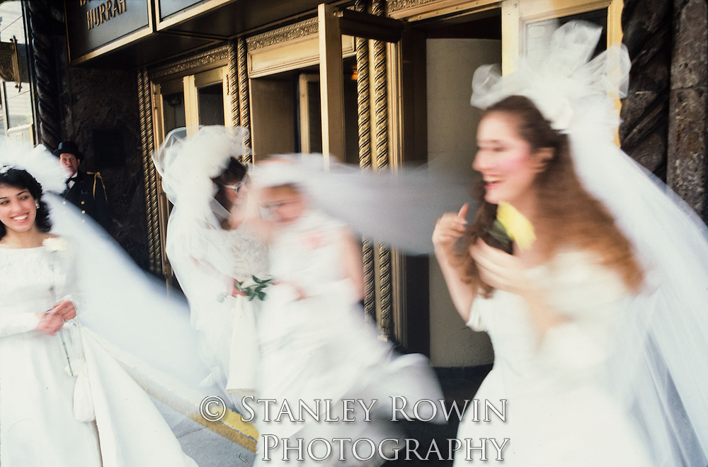 The running of the brides