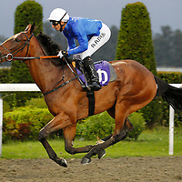 Speckled and Ahmed Ajtebi winning the 6.45 race