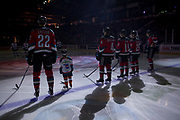 KELOWNA, CANADA - DECEMBER 02:  Pepsi Player of the Game in the lineup at the Kelowna Rockets game on December 02, 2017 at Prospera Place in Kelowna, British Columbia, Canada.  (Photo By Cindy Rogers/Nyasa Photography,  *** Local Caption ***