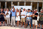 Team Proteus wins the Corfu Challenge.