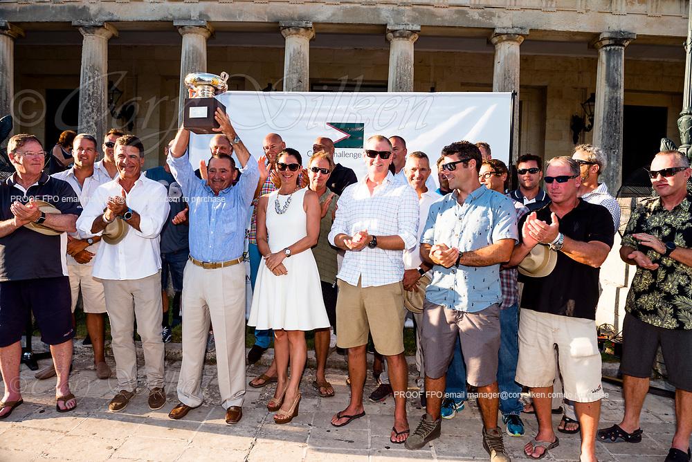 Team Proteus wins the Corfu Challenge.