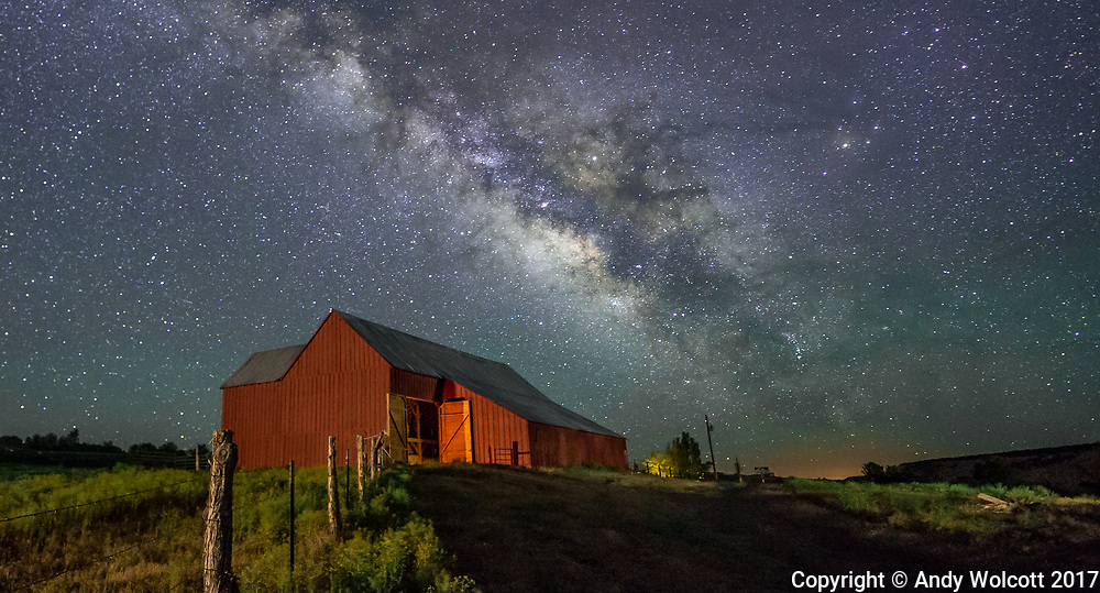 Barn near Boulder, Utah