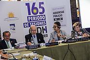 165º Período de Sesiones de la Comisión Interamericana de Derechos Humanos - CIDH