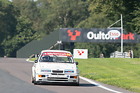 #60 Mark WRIGHT Ford Sierra RS500 during HSCC Dunlop Saloon Car Cup  as part of the HSCC Oulton Park Gold Cup  at Oulton Park, Little Budworth, Cheshire, United Kingdom. August 25 2019. World Copyright Peter Taylor/PSP. Copy of publication required for printed pictures.