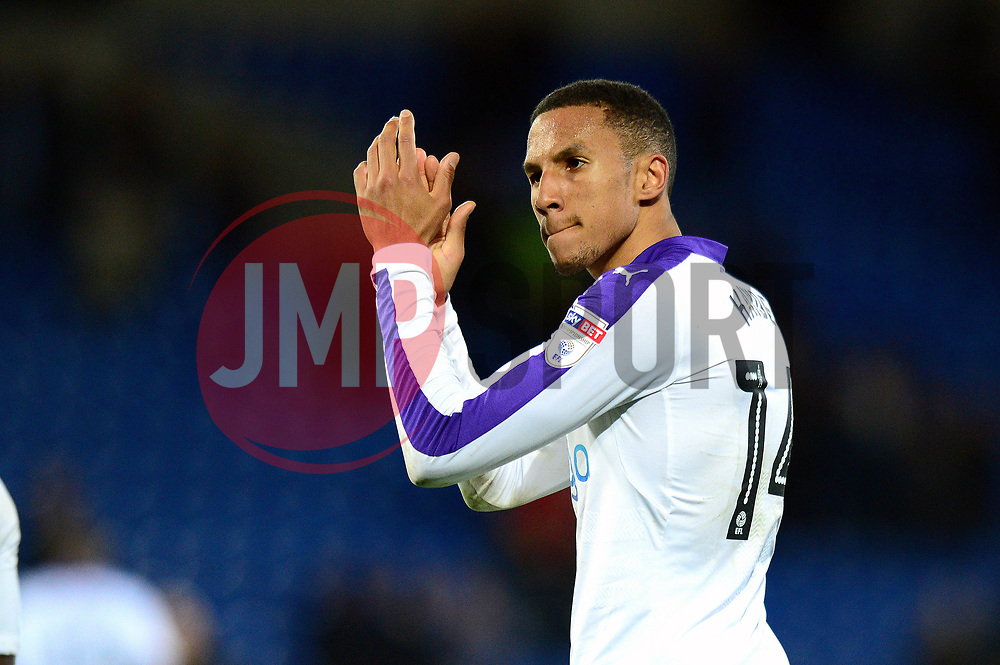 Isaac Hayden of Newcastle United applauds the fans at the end of the game - Mandatory by-line: Dougie Allward/JMP - 28/04/2017 -  FOOTBALL - Cardiff City Stadium - Cardiff, Wales -  Cardiff City v Newcastle United - Sky Bet Championship