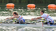 Reading, Great Britain,  GBR TA Mixed Double, Nick BEIGHTON and Sam SCOWEN.  2011 GBRowing World Rowing Championship, Team Announcement.  GB Rowing  Caversham Training Centre.  Tuesday  19/07/2011  [Mandatory Credit. Peter Spurrier/Intersport Images]