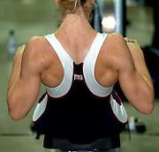 2005 British Indoor Rowing Championships, Competitors, Women's event, rowing Machines, National Indoor Arena, Birmingham, ENGLAND,    20.11.2005  [Mandatory Credit Peter Spurrier/ Intersport Images]