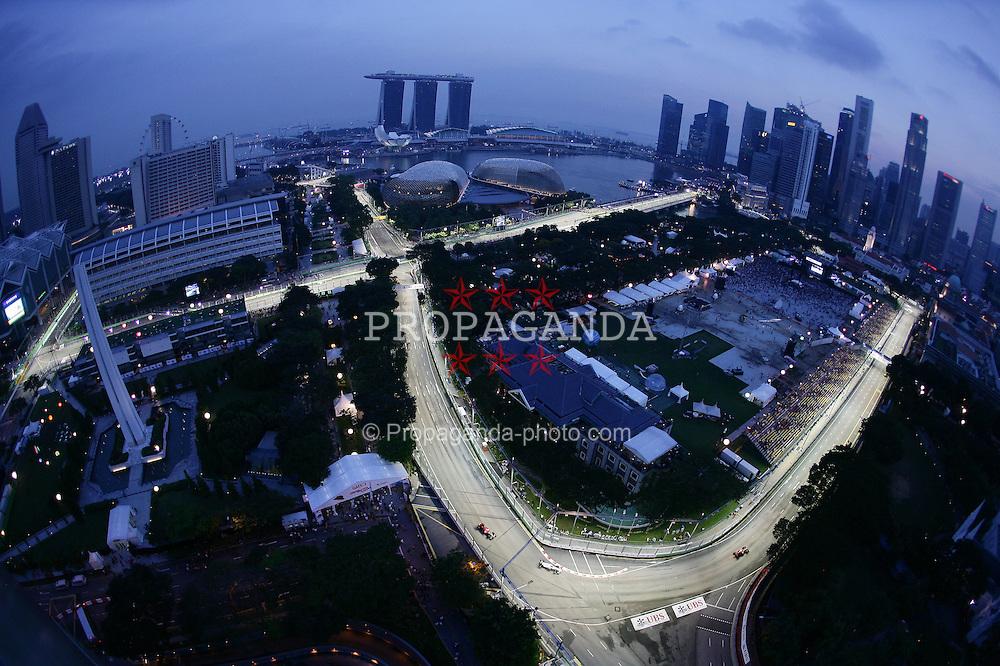 Motorsports / Formula 1: World Championship 2010, GP of Singapore, Singapore City Circuit, general view