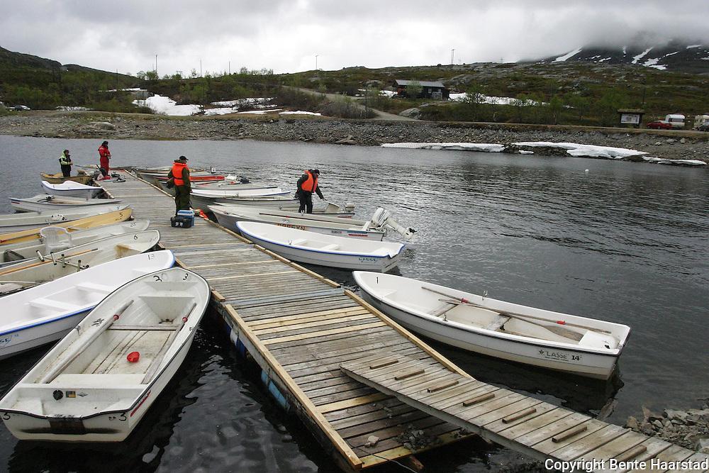 Fiske ved Nesjøen.