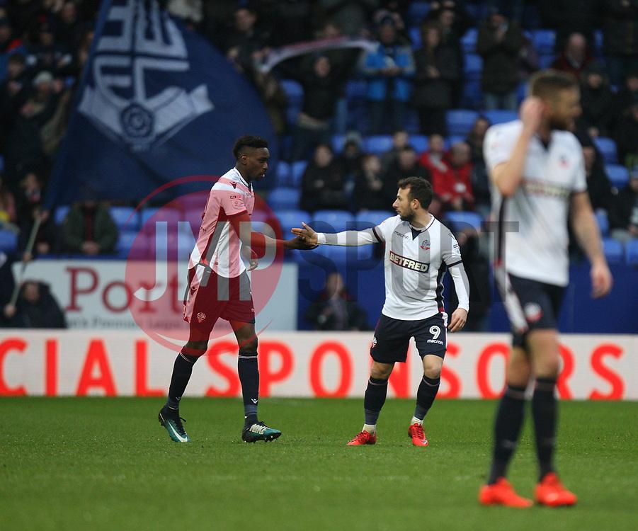 - Mandatory by-line: Jack Phillips/JMP - 10/02/2018 - FOOTBALL - Macron Stadium - Bolton, England - Bolton Wanderers v Fulham - English Football League Championship