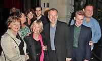 LONDON - July 12: Janine Duvitski, Siobhan Finneran, Rob James-Collier, Sheila Reid & Steve Pemberton at the ITV Summer Party (Photo by Brett D. Cove)