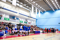 Bristol Flyers fans - Rogan/JMP - 13/10/2017 - BASKETBALL - SGS Wise Arena - Bristol, England. - Bristol Flyers v Cheshire Pheonix - BBL Cup.