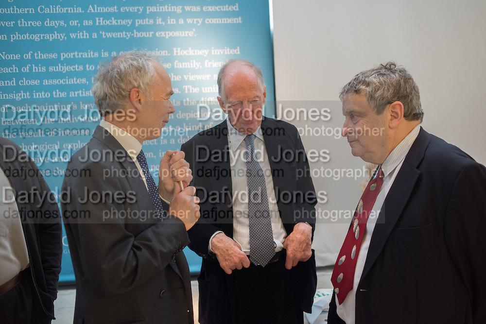 LORD JACOB ROTHSCHILD; NORMAN ROSENTHAL, David Hockney RA: 82 Portraits and 1 Still-life. Royal Academy of Arts. Piccadilly. London. 28 June 2016