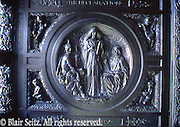 Harrisburg Capitol Complex, main door mould, Architect Joseph Huston