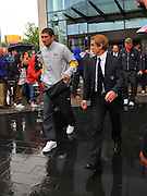 06.MAY.2011. LIVERPOOL<br /> <br /> ALEKSANDAR KOLOROV LEAVING THE HILTON HOTEL FOR THE PREMIERSHIP MATCH BETWEEN EVERTON AND MANCHESTER CITY AT GOODISON PARK IN LIVERPOOL, UK.<br /> <br /> BYLINE: EDBIMAGEARCHIVE.COM<br /> <br /> *THIS IMAGE IS STRICTLY FOR UK NEWSPAPERS AND MAGAZINES ONLY*<br /> *FOR WORLD WIDE SALES AND WEB USE PLEASE CONTACT EDBIMAGEARCHIVE - 0208 954 5968*