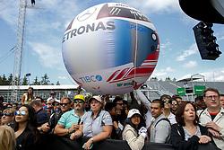June 7, 2018 - Montreal, Canada - Motorsports: FIA Formula One World Championship 2018, Grand Prix of Canada  Big Balloon Petronas  (Credit Image: © Hoch Zwei via ZUMA Wire)