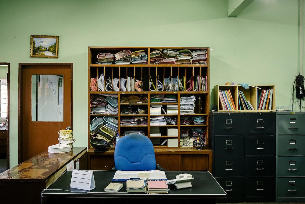 Office. Sungai Pelek, Selangor, Malaysia.