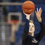 HARTFORD, CONNECTICUT- DECEMBER 19:  Katie Lou Samuelson #33 of the Connecticut Huskies warming up before the UConn Huskies Vs Ohio State Buckeyes, NCAA Women's Basketball game on December 19th, 2016 at the XL Center, Hartford, Connecticut (Photo by Tim Clayton/Corbis via Getty Images)