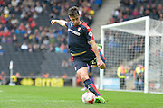 Rotherham Midfielder Joe Newell during the Sky Bet Championship match between Milton Keynes Dons and Rotherham United at stadium:mk, Milton Keynes, England on 9 April 2016. Photo by Dennis Goodwin.