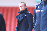 Dean Keates during the EFL Sky Bet League 1 match between Walsall and Rochdale at the Banks's Stadium, Walsall, England on 2 February 2019.