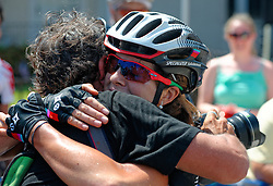 USA's Kiel Reijnen and Evelyn Stevens win Philly Cycling Classic. <br /> Scenes from the 2011-2014 Philadelphia International Bicyling Classic #ManayunkWall Bike Race, traditionally held in the first week of June. (photo by Bastiaan Slabbers/BasSlabbers.com)<br /> <br /> For license options of Philadelphia International Cycling Classic related imagery please visit my editoiral stock portfolio at Getty Images/iStock.com: istockphoto.com/portfolio/basslabbers