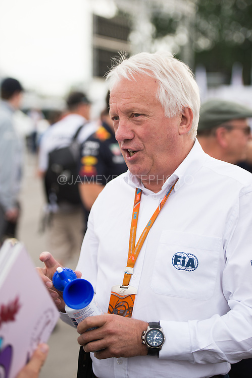 June 8-11, 2017: Canadian Grand Prix. Race director Charlie Whiting