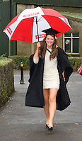 Mary Dunne Baal Co. Mayo who got her Honors Bachelor of Arts Degree from NUI,Galway. Photo:Andrew Downes.