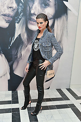 ISABELI FONTANA at a dinner to celebrate the exclusive Capsule collection: Maison Michel by Karl Lagerfeld held at Selfridges, 400 Oxford Street, London on 23rd February 2015.