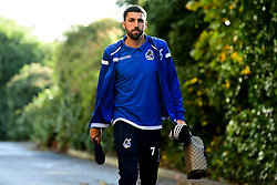 Liam Sercombe of Bristol Rovers arrives at Memorial Stadium prior to kick off - Mandatory by-line: Ryan Hiscott/JMP - 10/11/2019 - FOOTBALL - Memorial Stadium - Bristol, England - Bristol Rovers v Bromley - Emirates FA Cup first round